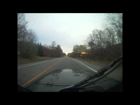 Driving to the Lake-Time Lapse (Extended)
