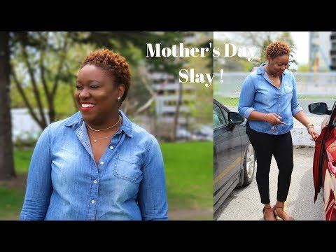 Mother's Day SLAY! Styling TWA And Makeup | Get To Know My Mom, Thoughts On Me Being On Youtube