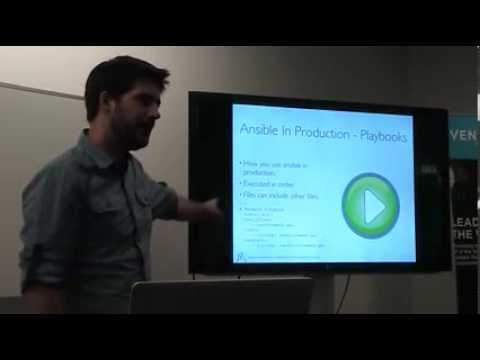 DevOps Brisbane Feb 2014 - Robert McLeay - DevOps in a Regulated World (Ansible, AWS, and Jenkins)