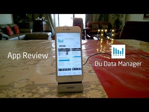 Du Data Manager - App Review