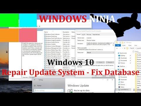 Windows 10 Repair Update System - Fix