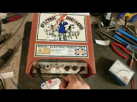 Electric Fence Energizer Repair