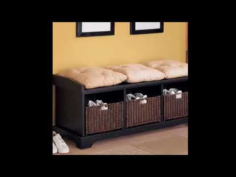 Storage Bench - Storage Bench Design Plans | Small Space Organizing Best Idea Collection