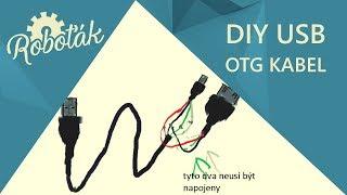 DIY USB OTG kabel - Roboťák