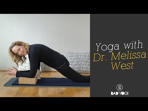 Guest Teacher Dr Melissa West with a Hip Opening Yoga Class!