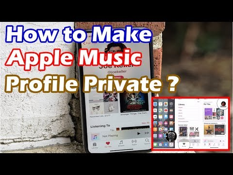 How to Make Apple Music Profile Private | Apple Music listening history private