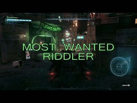 Batman: Arkham Knight - Flight School and Intro to Physics Riddler's Revenge Most Wanted Guide
