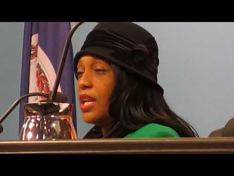 Sharon Scott Speaking on Newport News City Farm, Newport News City Council, 12/13/16 1636