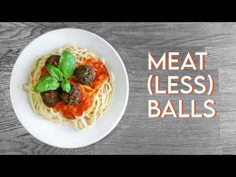 VEGAN MEATBALLS | Easy Meatless Balls Recipe