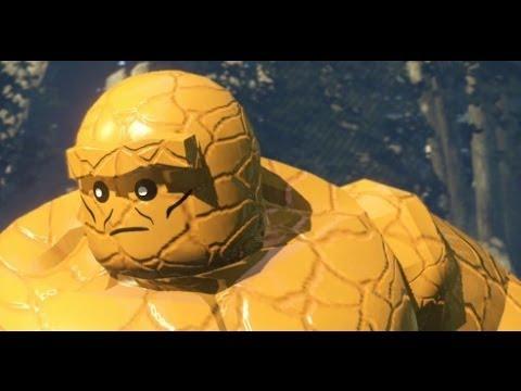 LEGO Marvel Super Heroes 100% Walkthrough Part 12 - Rapturous Rise (Mystique Boss Fight)