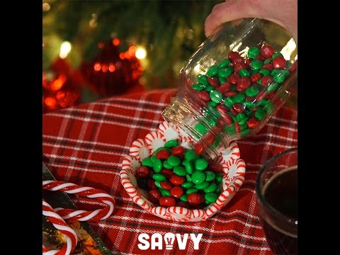 Peppermint Candy Bowl