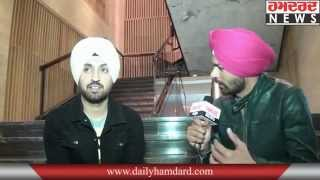 Exclusive Interview | Diljit Dosanjh | Ishq Haazir Hai | Hamdard Tv