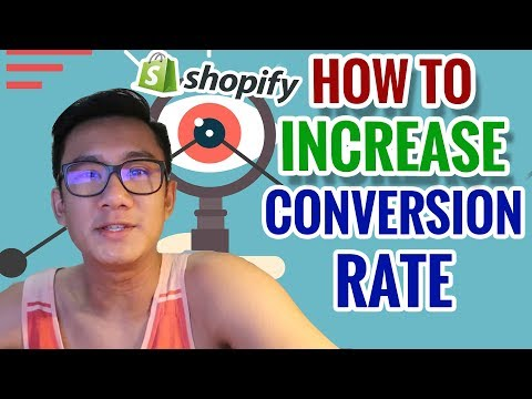 🤑 Want To Get More Shopify Sales? 🤑 | Conversion Rate INCREASE Tutorial