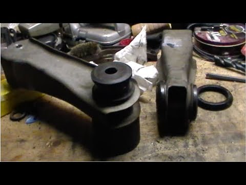 Replace Rear Upper & Lower Control Arm Bushings - Ford Mustang ('73 - '04)