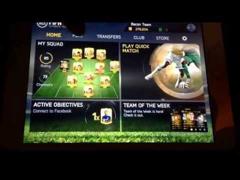 Fifa 15 iOS/Android glitch