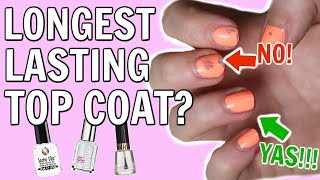Battle of the Nail Polish Top Coats - [ But First, Coffee ]