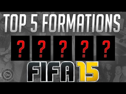 Top 5 Formations in FIFA 15 Ultimate Team (FUT 15) Guide to Best Squad & Best Formations