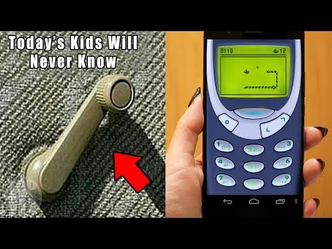 10 Things Kids Today Will NEVER Understand