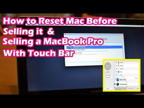 How to Reset your Mac before Selling it | Selling a MacBook Pro with Touch Bar