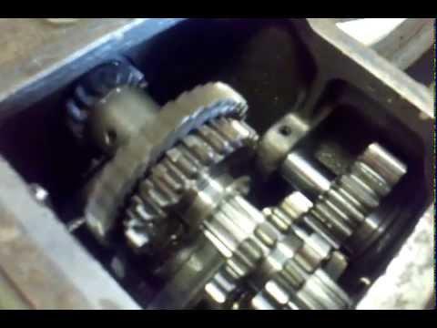 Yanmar YM2000, inside the gear box. Part 2