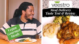 He tried GOURMET VEGAN MEAL DELIVERY for meat lovers! |  Veestro Review