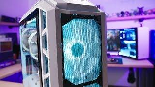THE ULTIMATE AIRFLOW PC!! Ryzen 7 2700X + GTX 1080 Ti