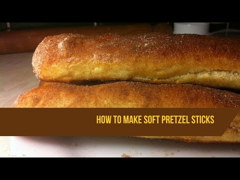 How to make soft pretzel sticks