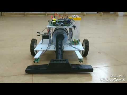 Automatic Floor Cleaning Robot