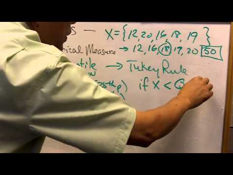 Quartile Measures and Tukey Rule by Dr. Caleb Chan