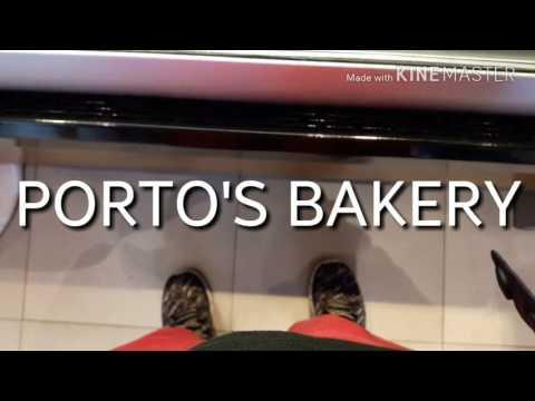 Porto's Cuban Bakery Los Angeles California