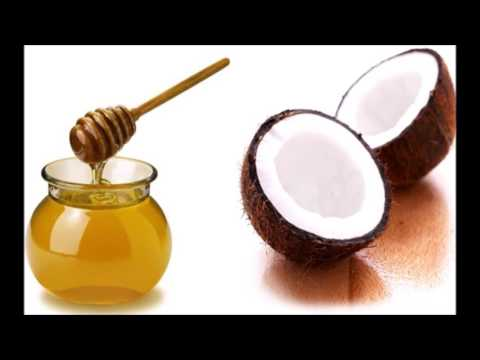 How To Get Clear Skin - Coconut Oil And Honey Face Mask