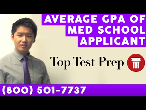 Average GPA of Med School applicant - Inside Tips - TopTestPrep.com