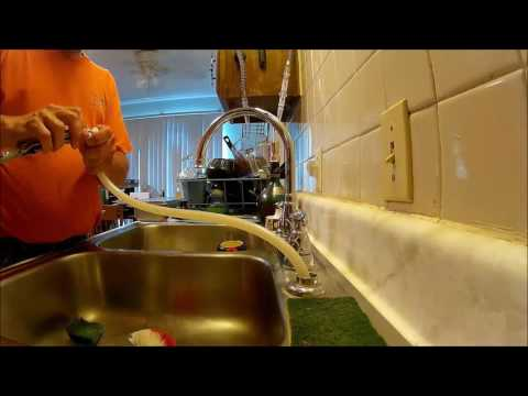 Replacing the Sprayer on my Kitchen Faucet