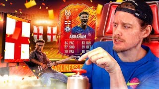 THE CHEAPEST HEADLINERS CARD?! 86 HEADLINER ABRAHAM PLAYER REVIEW! FIFA 20 Ultimate Team