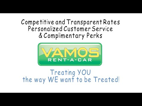 About Us - Vamos Rent-A-Car - Official Channel