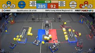 Qual 28 - 2018 SBPLI Long Island Regional #2
