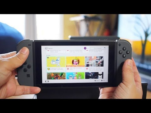 Nintendo SWITCH Gameplay + Review, ARMS Switch Game, MicroSD Card
