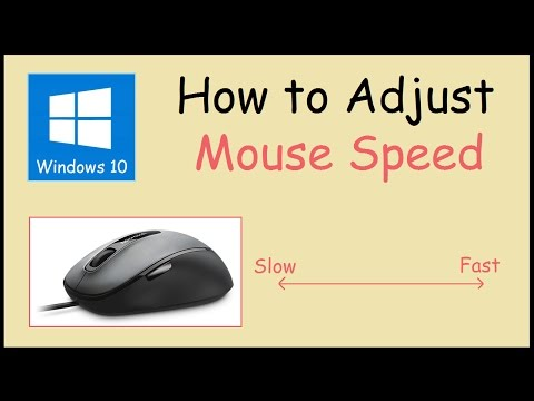 How to adjust your Mouse Sensitivity Windows 10