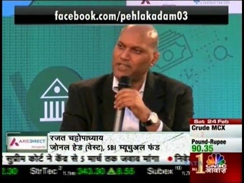 Rajat Chattopadhyay,  Zonal Head West, SBI MF at CNBC Awaaz Pehla Kadam Season 3