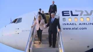 PM Netanyahu Lands in NYC