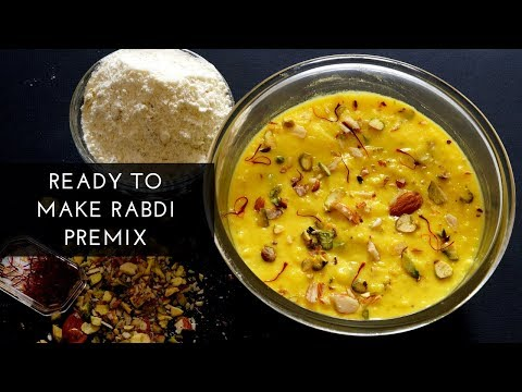 Ready to make Rabdi Premix - How to Make Rabdi - Easy Rabdi Recipe - Instant Rabdi