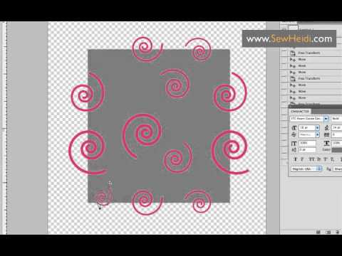 Seamless Repeating Patterns in Photoshop Using Vector Smart Objects from Illustrator