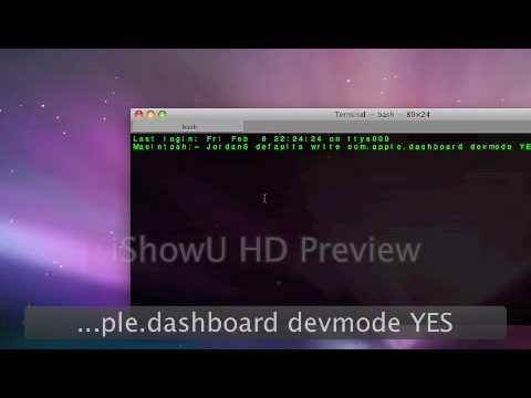 Terminal Trick 4: Widgets On Desktop