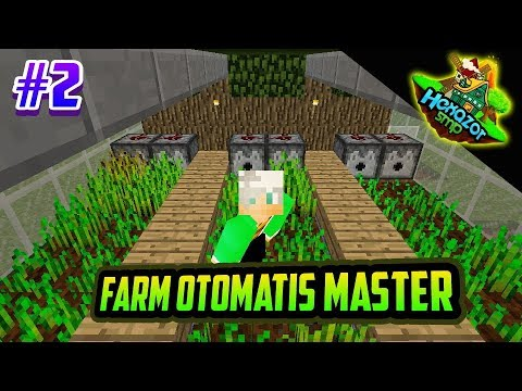 FARM OTOMATIS PERTAMA DI HEXAZOR SMP - EPISODE 2