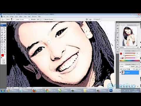 Membuat Foto Menjadi Kartun dengan Filter Photoshop CS3