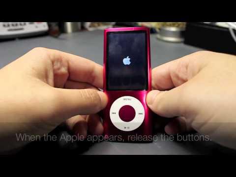 How to Restart an iPod Nano