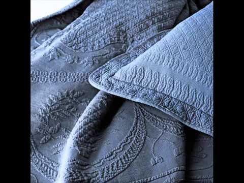 King Charles Matelasse King Sham ; euro sham pillow, european sham pillows