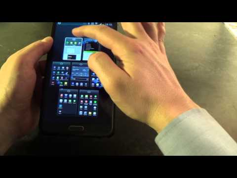 Rearranging Home Screens on Samsung Galaxy Note 3