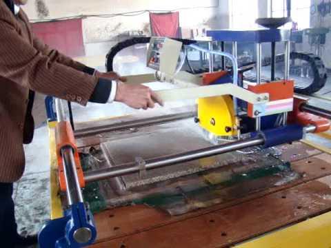 WSQJ 3500 stone slab cutting machine when CUTTING LINE