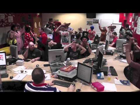 2013 Virgin Media Training Harlem Shake